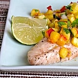 Whole30: Rockfish With Peach Salsa