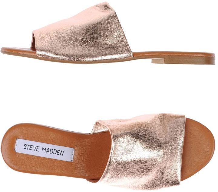 Who could resist a shiny pair of Steve Madden Sandals ($72, originally $81)?