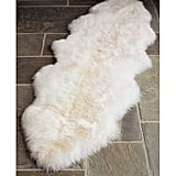 Pottery Barn Sheepskin Rug ($179)