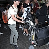 Shia and Megan at LAX