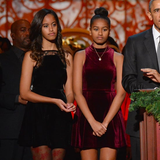 Malia and Sasha Obama Bridesmaid Style