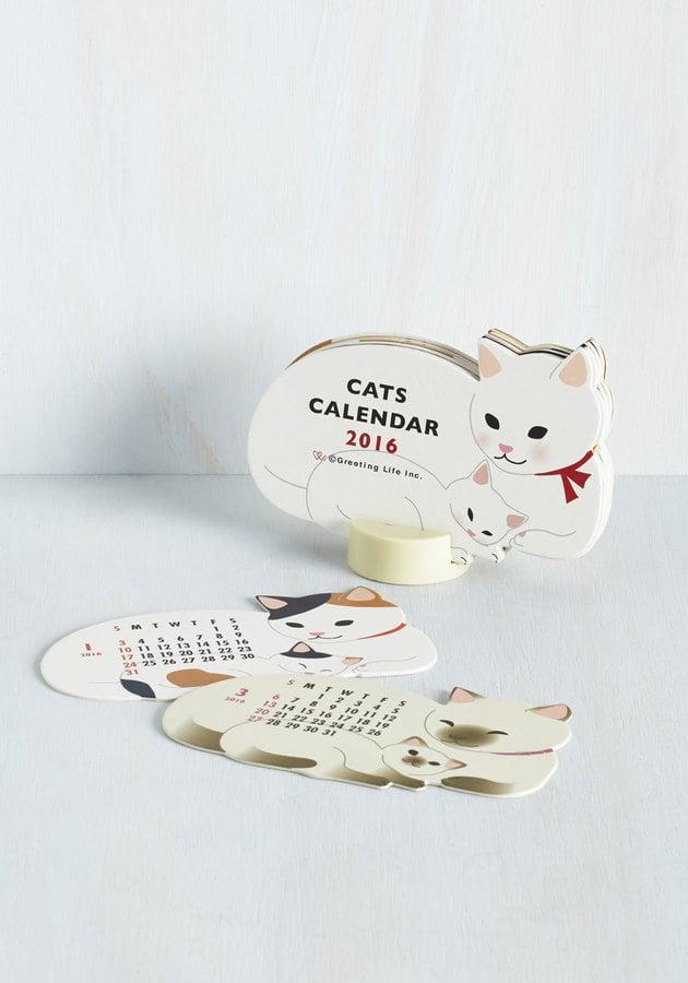 Year of the Critter 2016 Calendar in Kitties