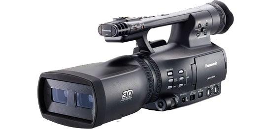 Panasonic Twin-Lens 3D Camera