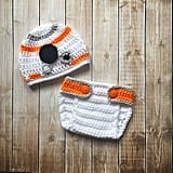 BB-8 Hat and Diaper Cover