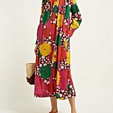 Dodo Bar Or Vyan Floral-Print Cotton Poplin Midi Dress