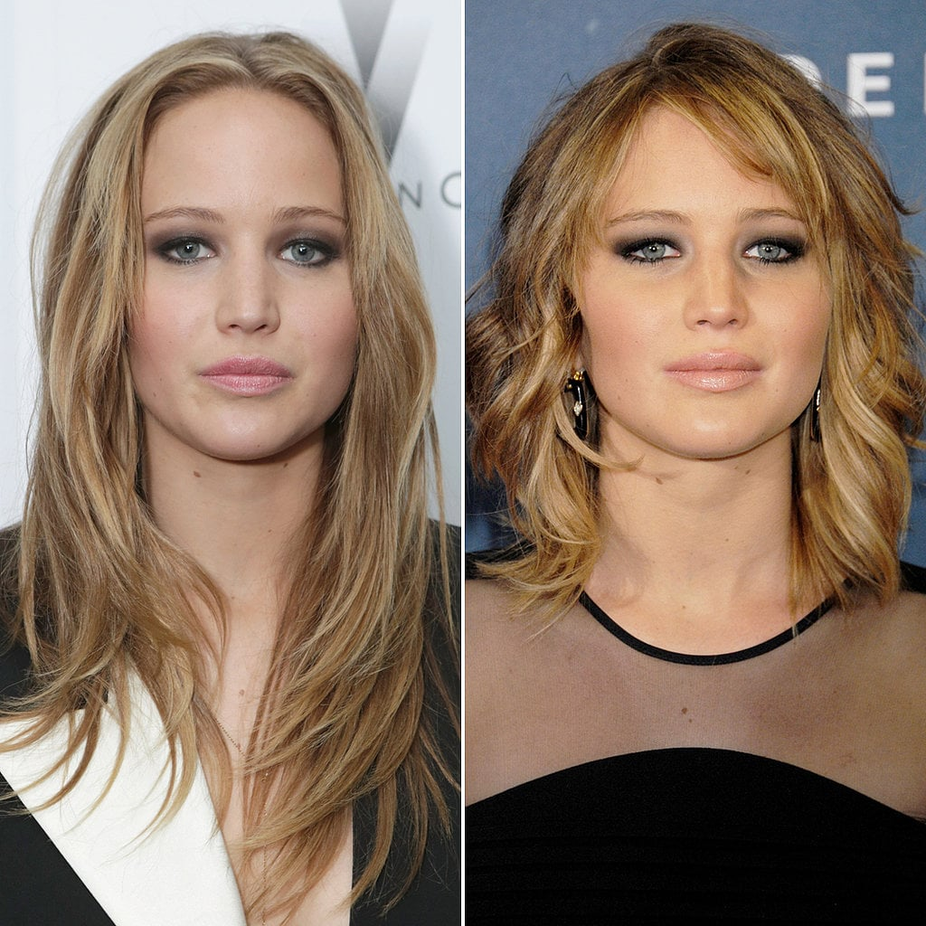 celebrity hair before and after pictures popsugar beauty australia