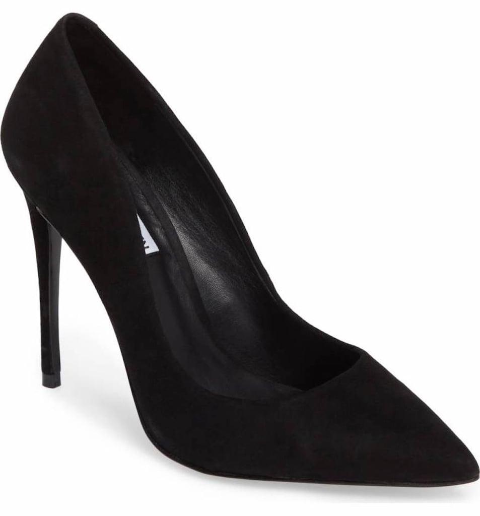 193ba8af45b Steve Madden Women's Daisie Pointy-Toe Pump | Beyonce Wearing Black ...