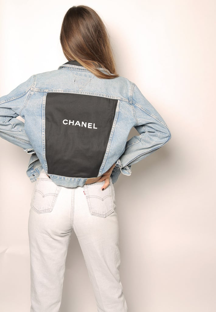Iamkoko.la Chanel Patch on Vintage Tommy Hilfiger Denim Jacket