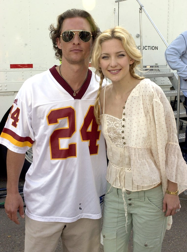 And Matthew McConaughey wore shorts when he linked up with Kate Hudson.