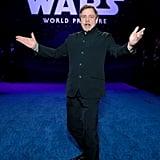 مارك هاميل في العرض الأول لفيلم Star Wars: Rise of Skywalker في لوس أنجلوس