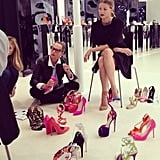 A preview of the shoes you'll be coveting for Spring 2014. Source: Instagram user brian_atwood
