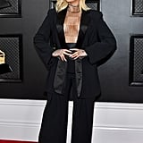Bebe Rexha at the 2020 Grammys