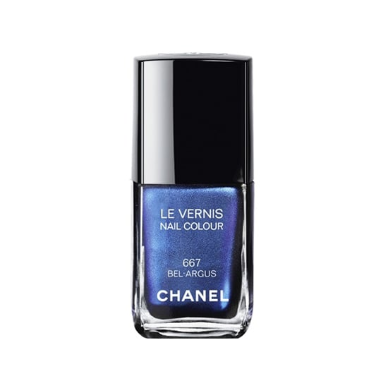 Chanel Le Vernis in Bel-Argus ($27) may have been inspired by the iridescent wings of a butterfly, but it has us longing for the deep blues of the ocean.