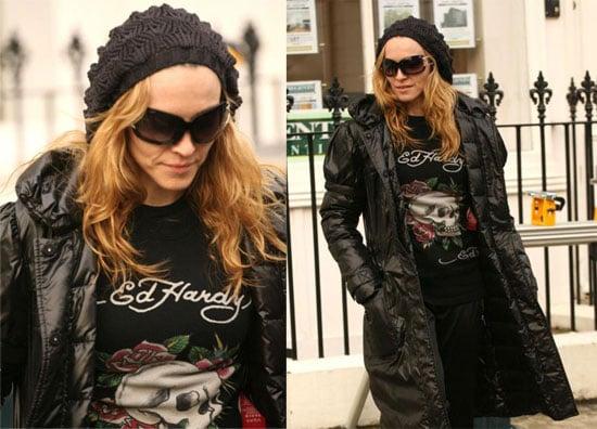 Madonna Stops Shooting Parties