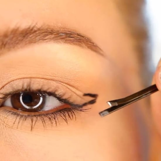 How to Apply a Cat Eye Using a Bobby Pin