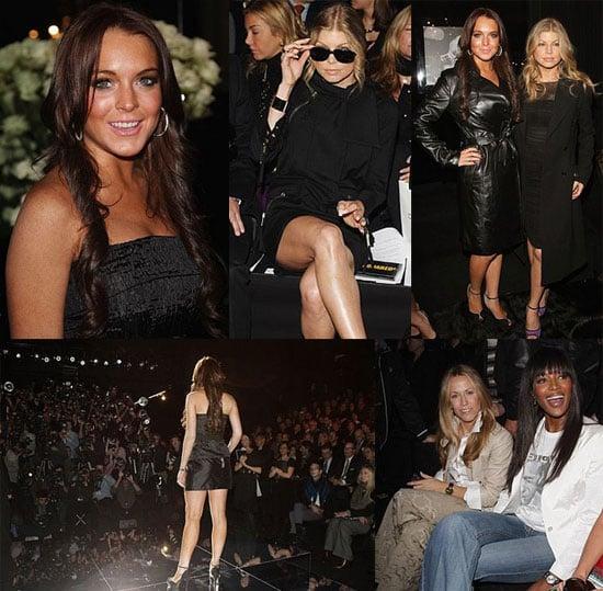 Lindsay Lohan at Milan Fashion Week