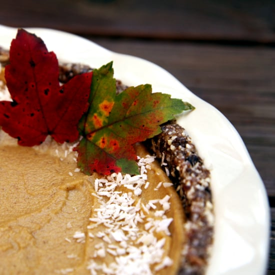 Raw Vegan Pumpkin Pie Recipe