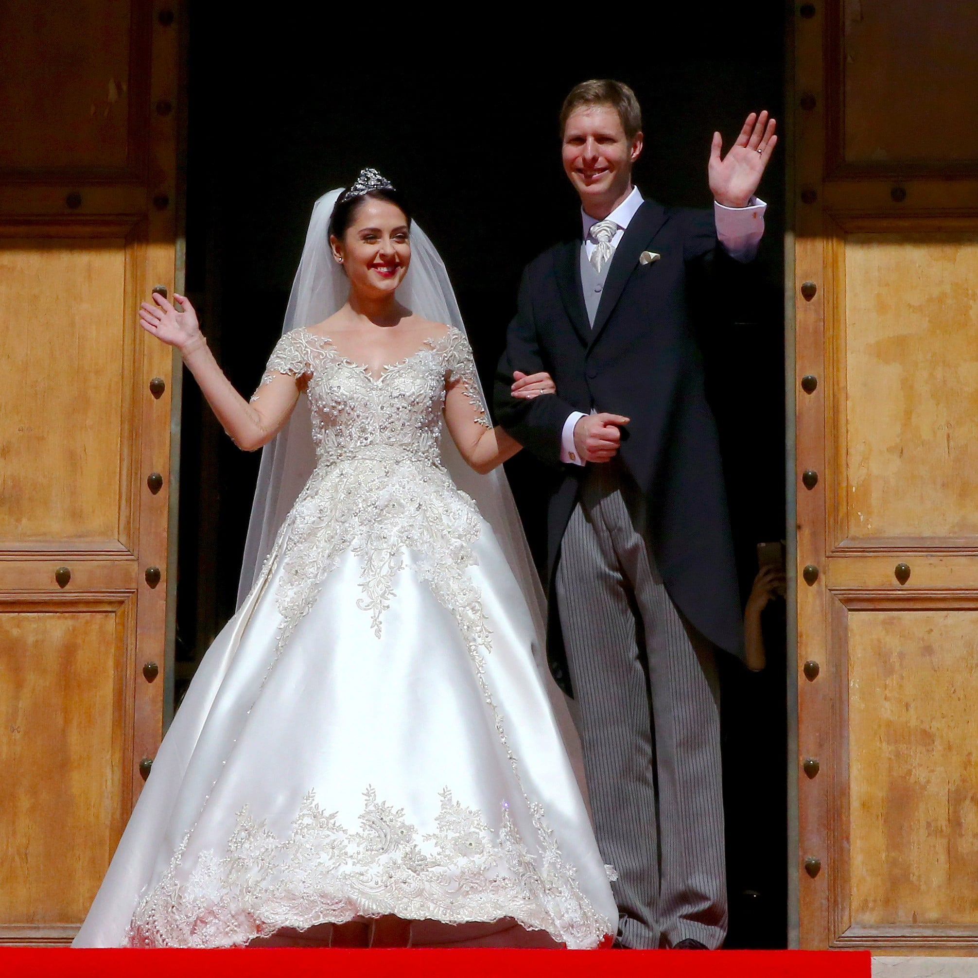 Crown Princess Elia of Albania's Wedding Dress | POPSUGAR Fashion