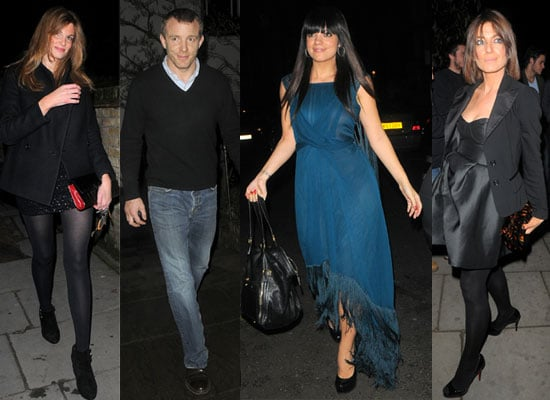 Photos of Lily Allen, Guy Ritchie, Jemima Khan and Claudia Winkleman at Matthew Freud's Christmas Party