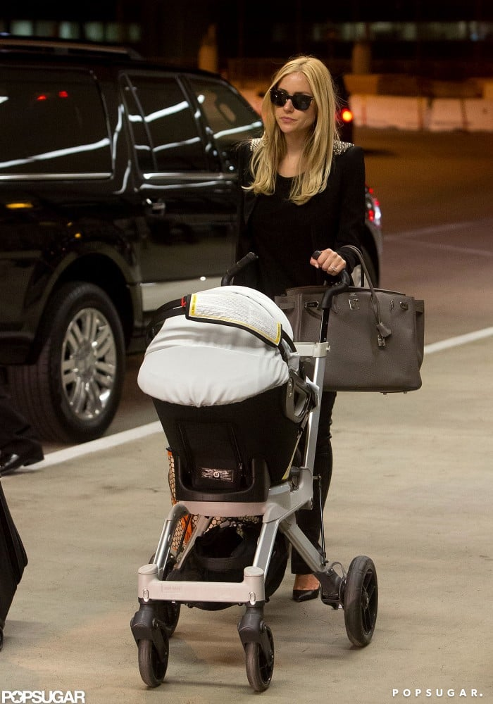 Kristin Cavallari got a lift to the airport.