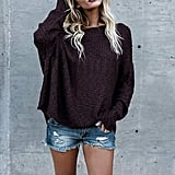 Beautife Knit Long Sleeve Sweater