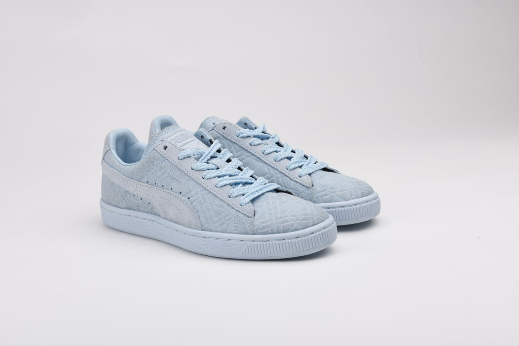 These powder-blue Puma x Solange sneakers ($90) are chic and totally easy to move around in for Fashion Month! They'll pair just as well with a leather skirt and structured sweatshirt as they will with jeans and a tee. — SW
