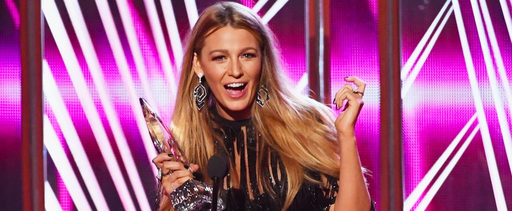 Blake Lively Speech Video at the 2017 People's Choice Awards