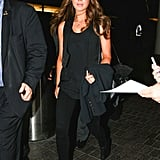 When in doubt, wear all black like Kate does.