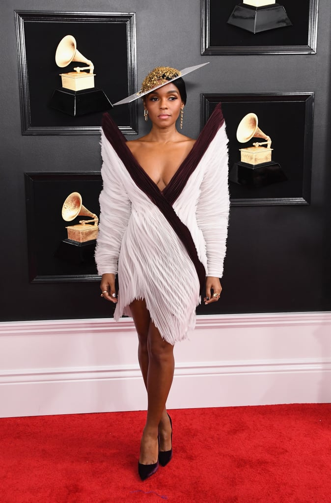Janelle Monáe at the 2019 Grammy Awards
