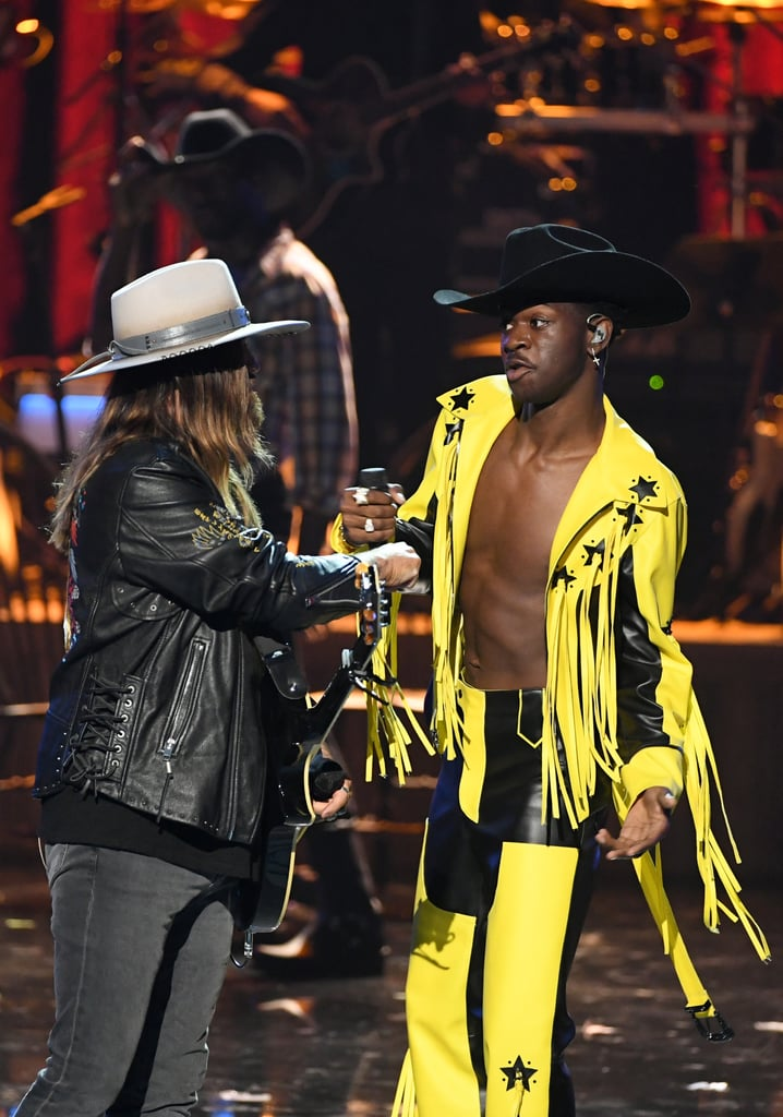 "Lil Nas X and Billy Ray Cyrus Turn the BET Awards Into a Saloon For ""Old Town Road"""