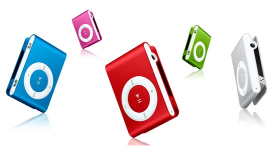 The iPod Shuffle Debuts in Four New Colors For Fall