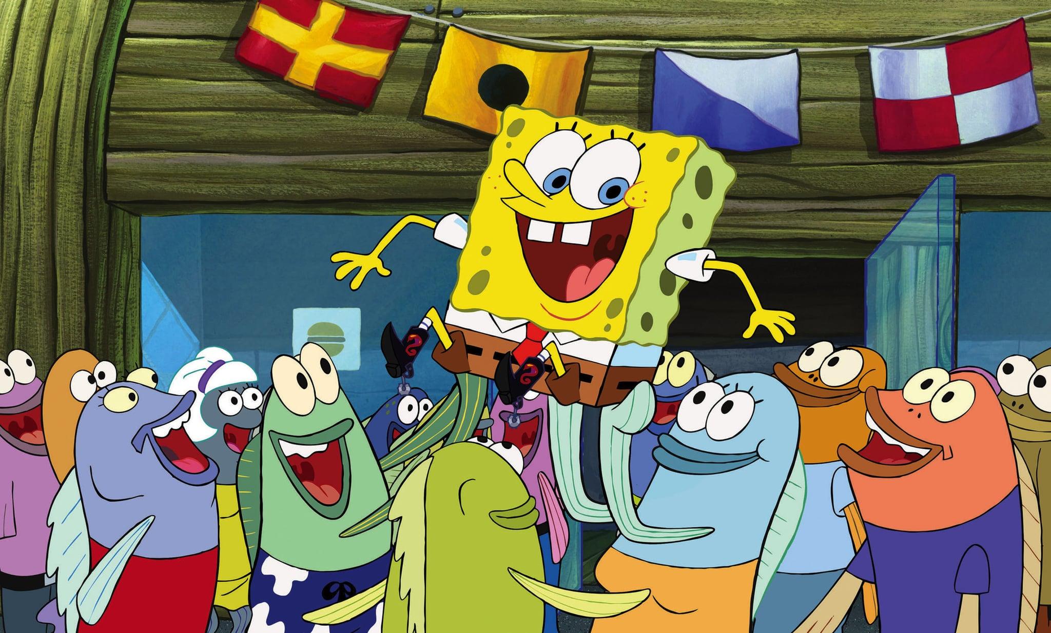 THE SPONGEBOB SQUAREPANTS MOVIE, Spongebob Squarepants, 2004, (c) Paramount/courtesy Everett Collection