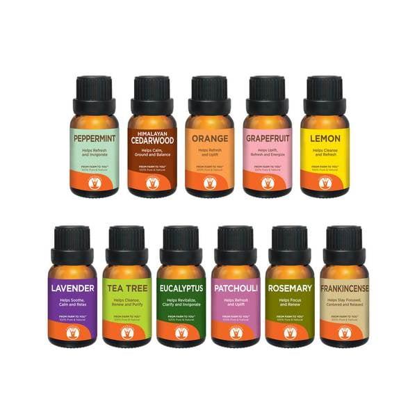 GuruNanda Single and Loving It Essential Oil Set
