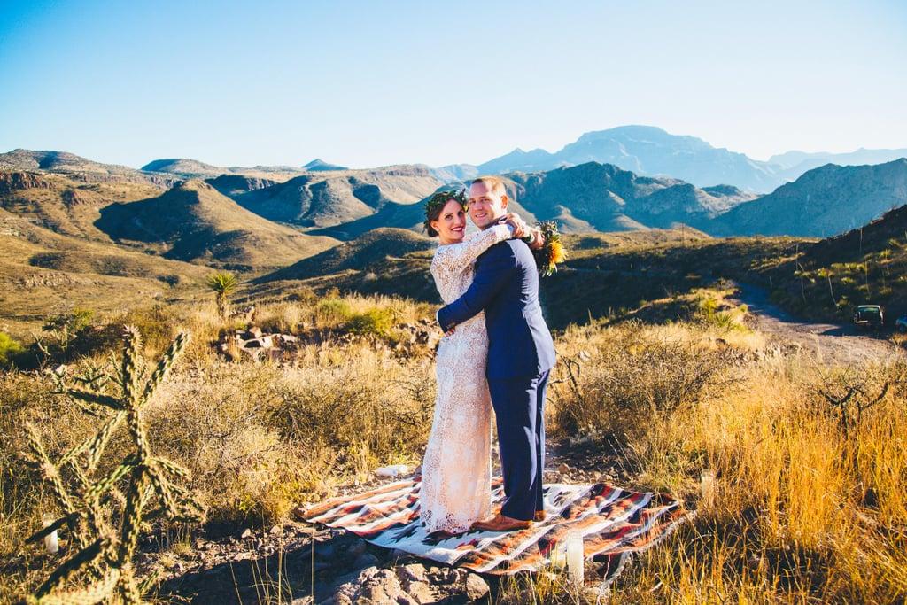 Popup Wedding in Marfa, TX