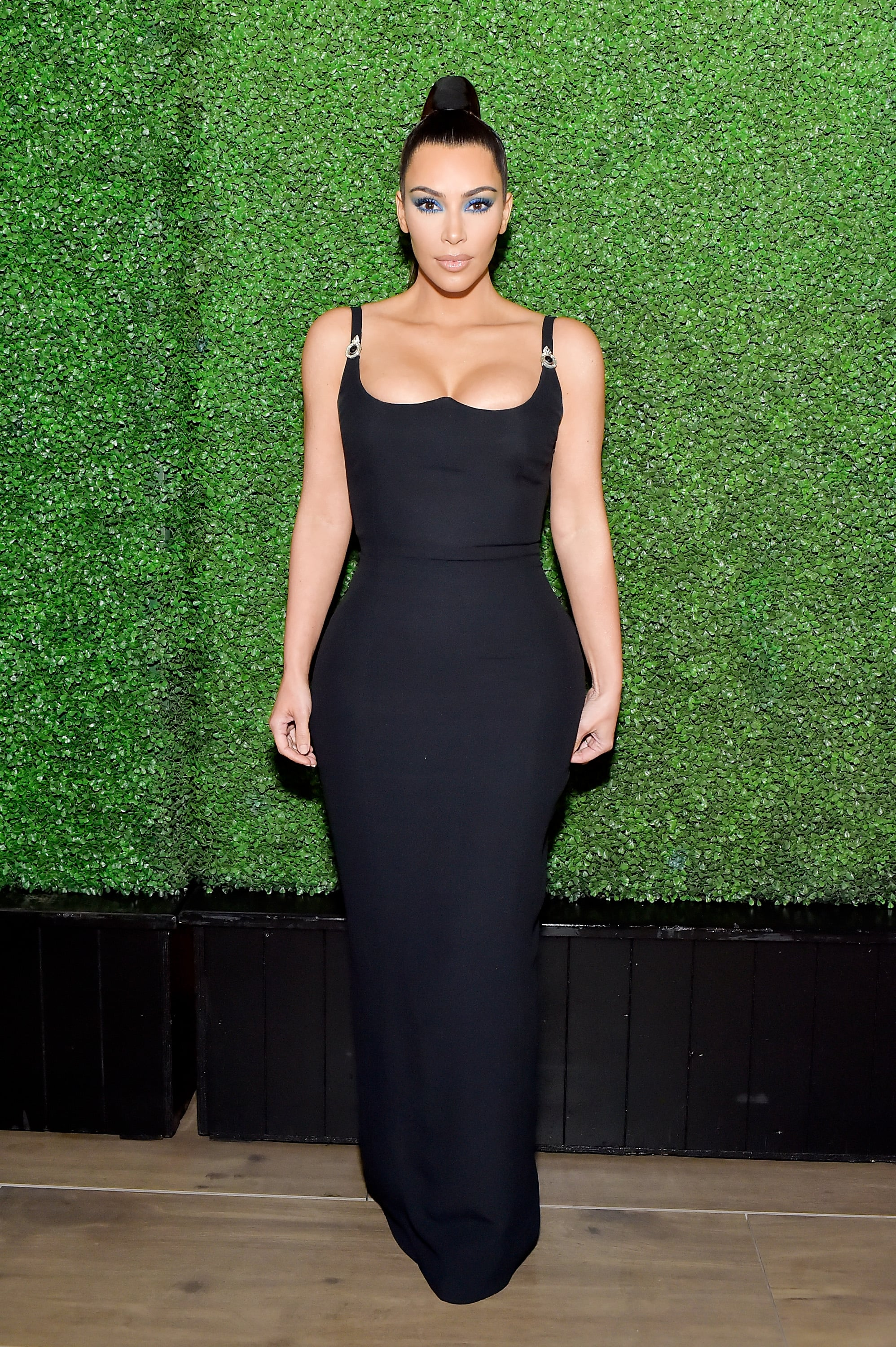 BEVERLY HILLS, CA - MARCH 31:  Kim Kardashian West attends KKWxMario Dinner at Jean-Georges Beverly Hills on March 31, 2018 in Beverly Hills, California.  (Photo by Stefanie Keenan/WireImage)