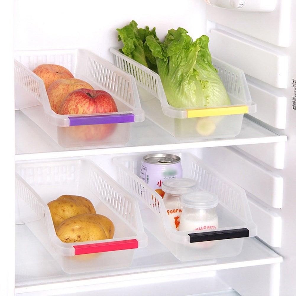 Marainbow Plastic Fruits Refrigerator Storage Trays