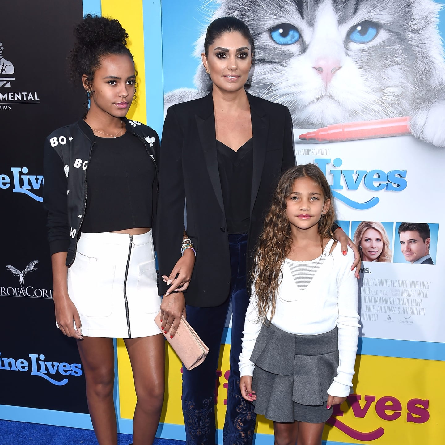 Rachel Roy and Daughters at Nine Lives Premiere Pictures | POPSUGAR ...