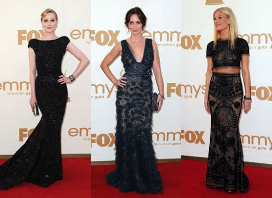 Pictures of Celebrities on the 2011 Emmys Red Carpet Including Lea Michele, Gwyneth Paltrow, Claire Danes & More!