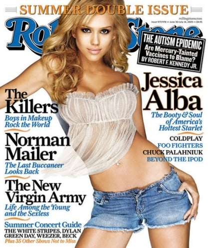 Rolling Stone, June 2005