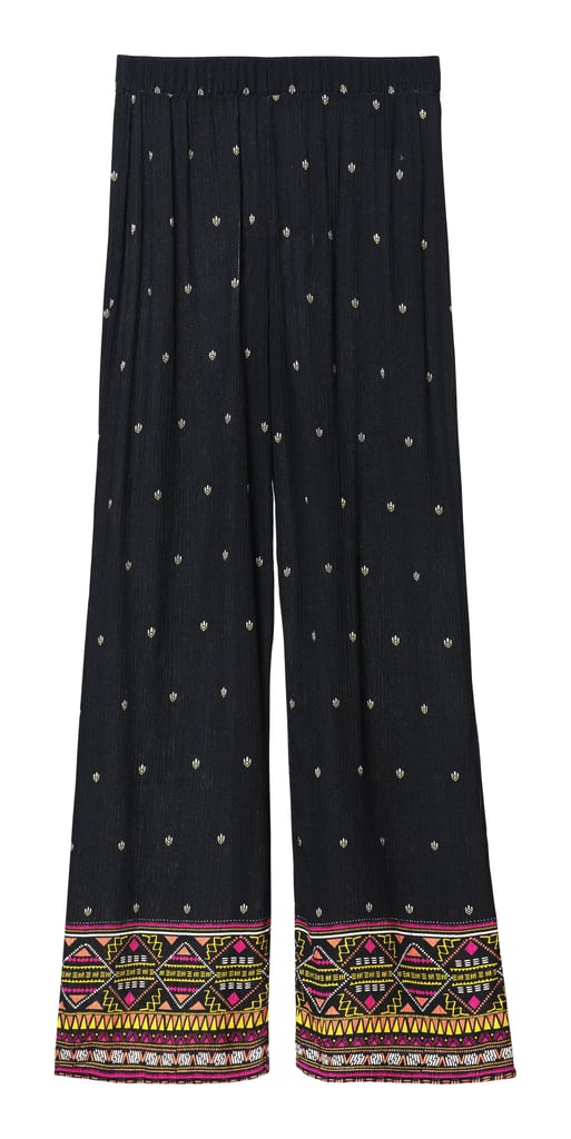 H&M LOVES COACHELLA Patterned Pants ($15)