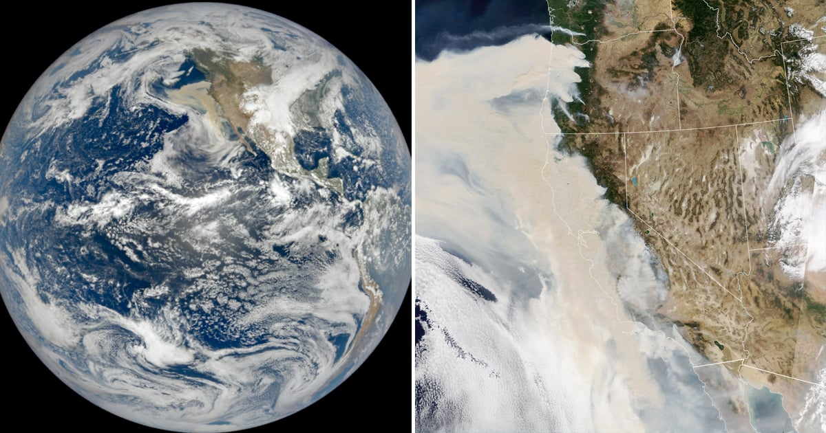NASA's Smoke-Filled Satellite Photos Show the Devastating Impact of the West Coast Wildfires