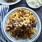 Beer and Balsamic Braised Pork Cavatappi
