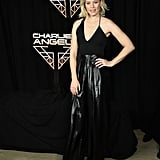 Elizabeth Banks at a Charlie's Angels Photocall
