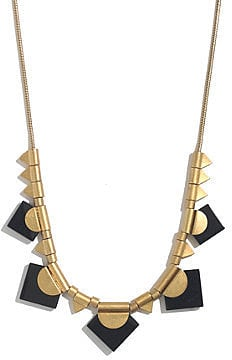 Add some statement-making hardware to your cutoffs and tanks with this Madewell Spring Festival necklace ($38).
