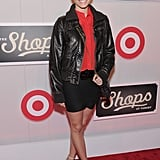 Amanda Setton made an appearance at The Shops at Target launch party in NYC.