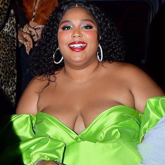 Lizzo's SNL Afterparty Outfit Included Wild Feathered Heels