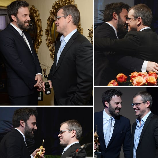 Ben Affleck And Matt Damon 2013