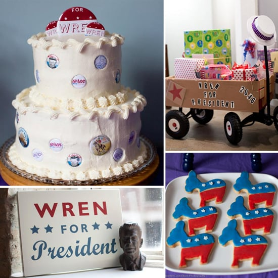 Wren For President! An Election-Inspired First Birthday Party