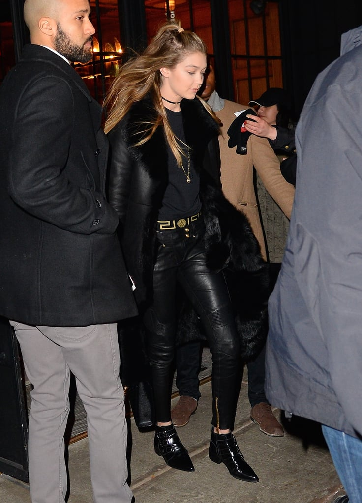 This Is the Edgiest Outfit Gigi Hadid Has Ever Worn