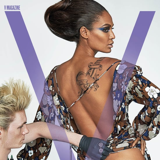 Joan Smalls Covers V Magazine January 2017